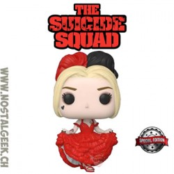 Funko Pop DC The Suicide Squad Harley Quinn in Dress Exclusive Vinyl Figure
