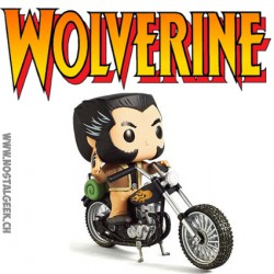 Funko Pop Ride Marvel Wolverine Wolverine with Motorcycle Edition Limitée