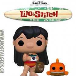 Funko Pop Disney Lilo & Stitch Lilo with PudgeVinyl Figure