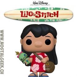 Funko Pop Disney Lilo & Stitch Lilo with Scrump Vinyl Figure