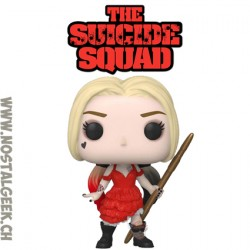 Funko Pop DC The Suicide Squad Harley Quinn in Ripped Dress Vinyl Figure