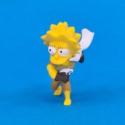 The Simpsons Lisa Simpson Clobber Girl second hand figure (Loose)