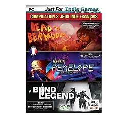 Compilation French Indy 3 games : The Next Penelope + A Blind Legend + Dead in Bermuda