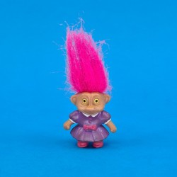 Soma Troll pink hair in dress second hand figure (Loose)