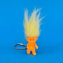 Trollorange yellow hair second hand figure keychain (Loose)