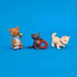 Disney Les Aristochats set of 3 second hand Figures (Loose)