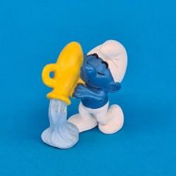 The Smurfs Zodiac series Aquarius second hand Figure (Loose)