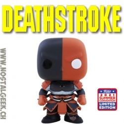 Funko Pop Summer Convention 2021Deathstroke (Imperial Palace) Exclusive Vinyl Figure