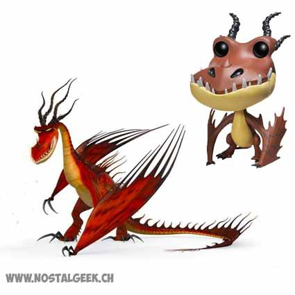 Figurine funko pop how to train your dragon 2 hookfang vaulted how to train your dragon 2 belch ccuart Choice Image