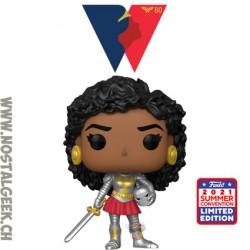 Funko Pop SDCC 2021 Wonder Woman Nubia Exclusive Vinyl Figure