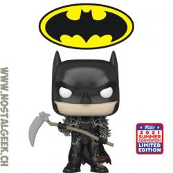 Funko Pop SDCC 2021 Dark Knight Metal Batman with Scythe Exclusive Vinyl Figure