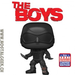 Funko Pop SDCC 2021 The Boys Black Noir Exclusive Vinyl Figure