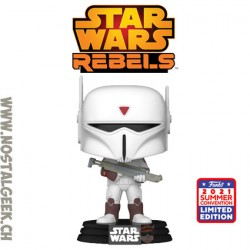 Funko Pop SDCC 2021 Star Wars Rebels Imperial Super Commando Exclusive Vinyl Figure