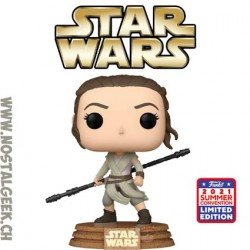 Funko Pop SDCC 2021 Star Wars Rey (Jakku) Exclusive Vinyl Figure