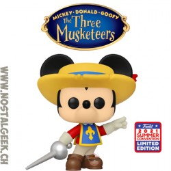 Funko Pop SDCC 2021 Disney Mickey Mouse (The Three Musketeers) Exclusive Vinyl Figure