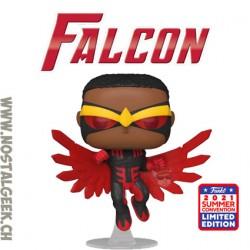 Funko Pop SDCC 2021 Marvel Falcon (Red Suit) Exclusive Vinyl Figure