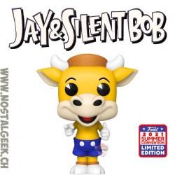 Funko Pop SDCC 2021 Jay and Silent Bob Mooby's Mascot Exclusive Vinyl Figure