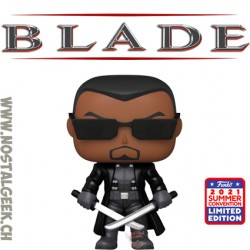 Funko Pop SDCC 2021 Marvel Blade Exclusive Vinyl Figure