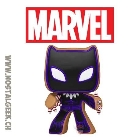Funko Pop Marvel Holiday Gingerbread Black Panther Vinyl Figure