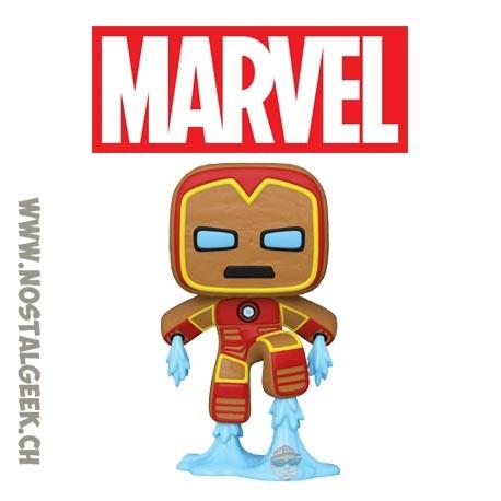 Funko Pop Marvel Holiday Gingerbread Iron Man Vinyl Figure