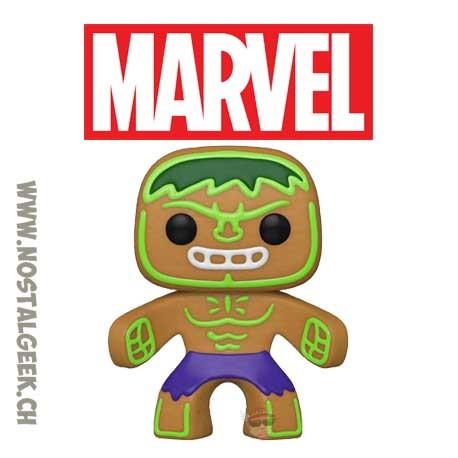 Funko Pop Marvel Holiday Gingerbread Hulk Vinyl Figure