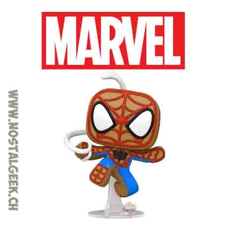 Funko Pop Marvel Holiday Gingerbread Spider-Man Vinyl Figure