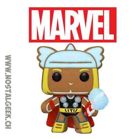 Funko Pop Marvel Holiday Gingerbread Thor Vinyl Figure