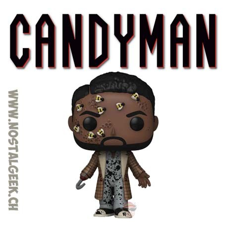 Funko Pop Horror Candyman with Bees Vinyl Figure