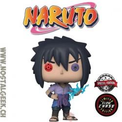 Funko Pop! Anime Manga Naruto Shippuden Sasuke (Rinnegan) Chase GITD Exclusive Vinyl Figure