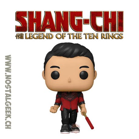 Funko Pop Marvel Shang-Chi and the legend of the Ten Rings Shang-Chi pose Vinyl Figure
