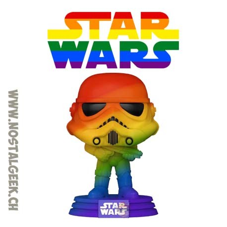 Funko Pop Star Wars Stormtrooper (Rainbow Pride) Exclusive Vinyl Figure