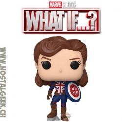 Funko Pop Marvel: What if...? Captain Carter Vinyl Figure