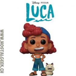 Funko Pop Disney Luca Giulia Marcovaldo with Machiavelli Vinyl Figure