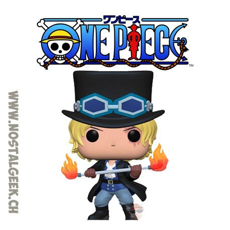 Funko Pop! Anime One Piece Sabo Vinyl Figure