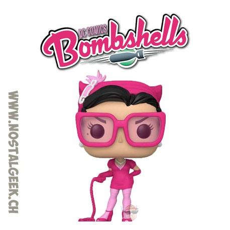 Funko Pop DC Bombshells Catwoman (Breast Cancer Awareness) Vinyl Figure