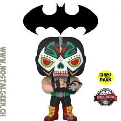 Funko Pop DC Dias de los Muertos Bane Exclusive GITD Vinyl Figure