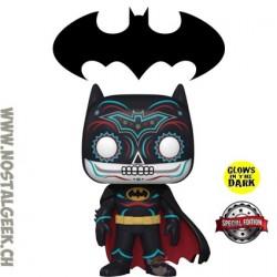 Funko Pop DC Dia de los Muertos Batman Exclusive GITD Vinyl Figure