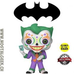 Funko Pop DC Dia de los Muertos Joker Exclusive GITD Vinyl Figure