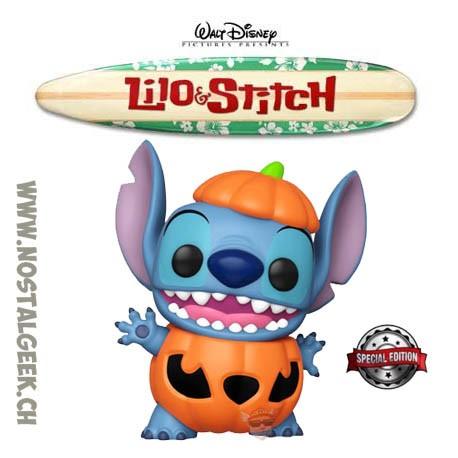 Funko Pop Disney Lilo & Stitch Pumpkin Stitch Exclusive Vinyl Figure