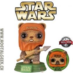 Funko Pop! Star Wars: Across the Galaxy Wicket W. Warrick Endor + pin Vinyl Figure