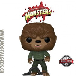 Funko Pop Universal Monsters The Wolf Man Exclusive Vinyl Figure