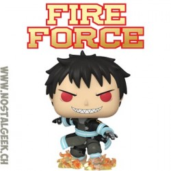 Funko Pop Animation Fire Force Shinra with Fire Vinyl Figure
