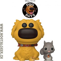 Funko Pop Disney Dug Days Dug & Squirrel Vinyl Figure