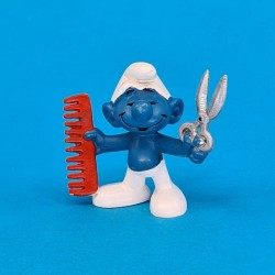 The Smurfs Barber Smurf second hand Figure (Loose)