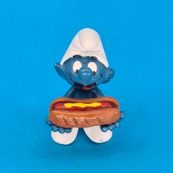 The Smurfs Hot Dog Smurf second hand Figure (Loose)