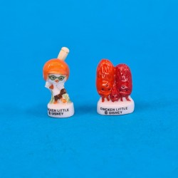 Disney Chicken Little set of second hand Charms (Loose)