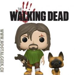 Funko Pop TV The Walking Dead Daryl with Dog Vinyl Figure