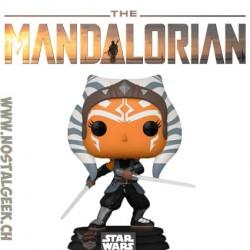 Funko Pop Star Wars The Mandalorian Ahsoka with Sabers Vinyl Figure