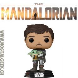 Funko Pop Star Wars The Mandalorian with Grogu Vinyl Figure