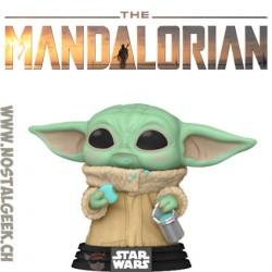 Funko Pop Star Wars The Mandalorian Grogu With Cookies Vinyl Figure